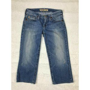 Big Star Casey Womens Capri Jeans Size 26 Low Rise